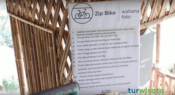Wahana Zip Bike